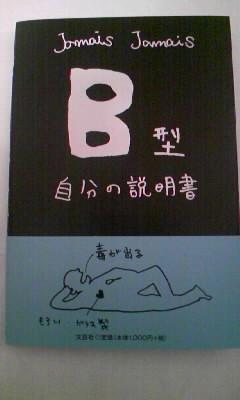 B型 自分の説明書